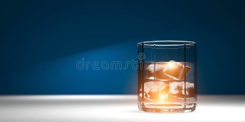 Холодная чистая вода Напиток партии разминки реалистические 3D представляют : иллюстрация штока