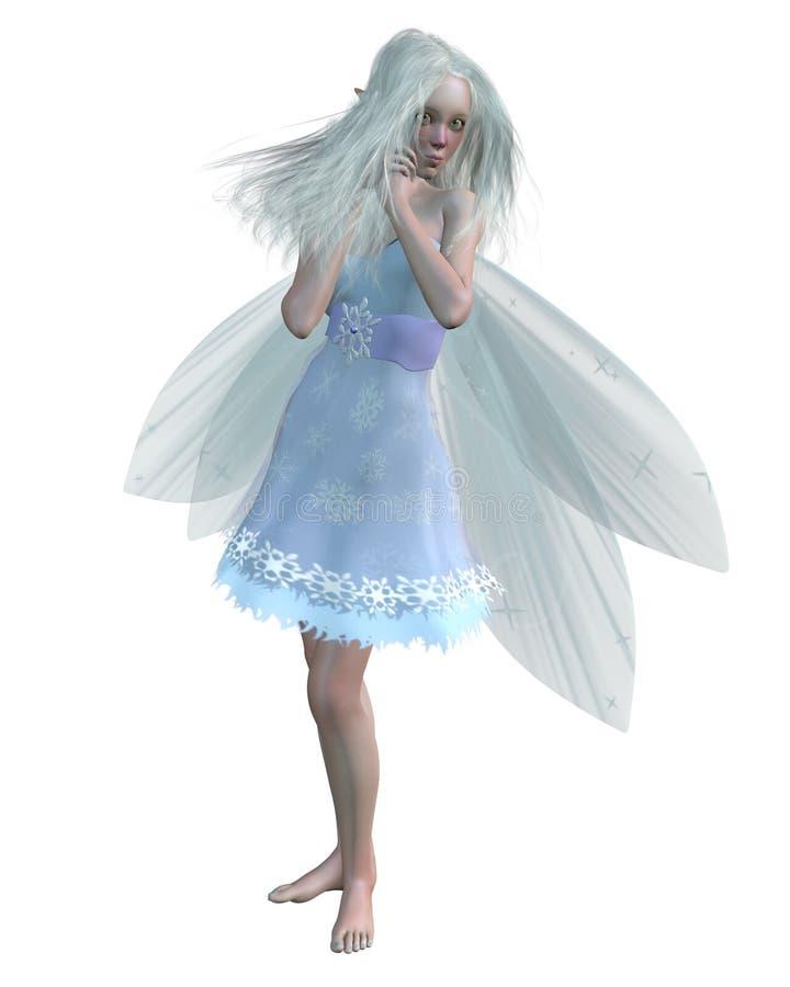 холодная fairy зима бесплатная иллюстрация