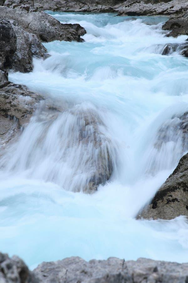 Холодное река стоковая фотография rf