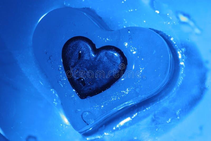 холодное сердце стоковые фотографии rf