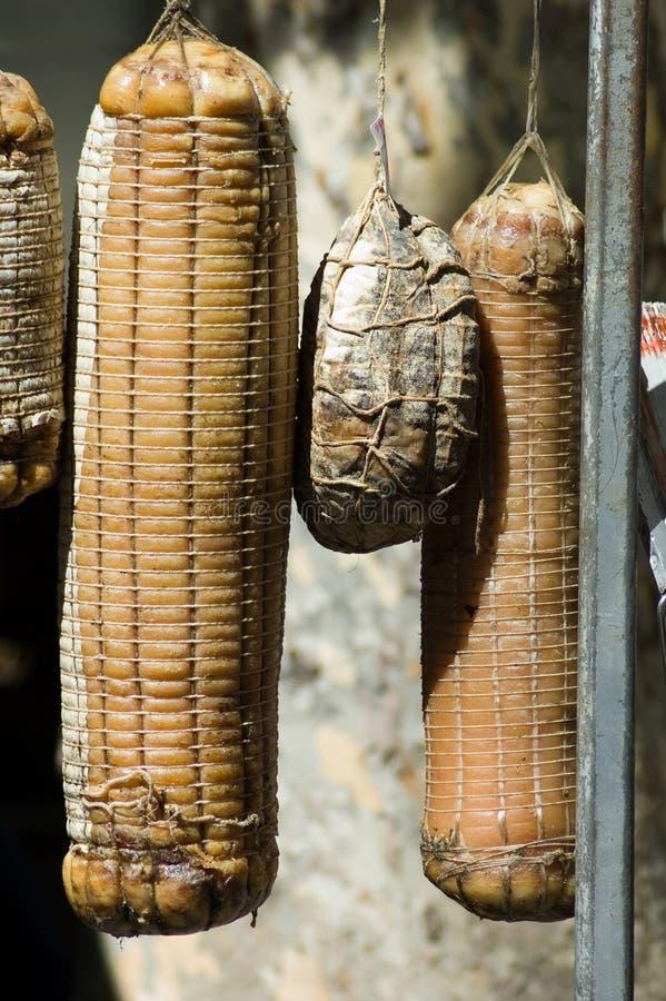 холодные отрезоки итальянские стоковое изображение