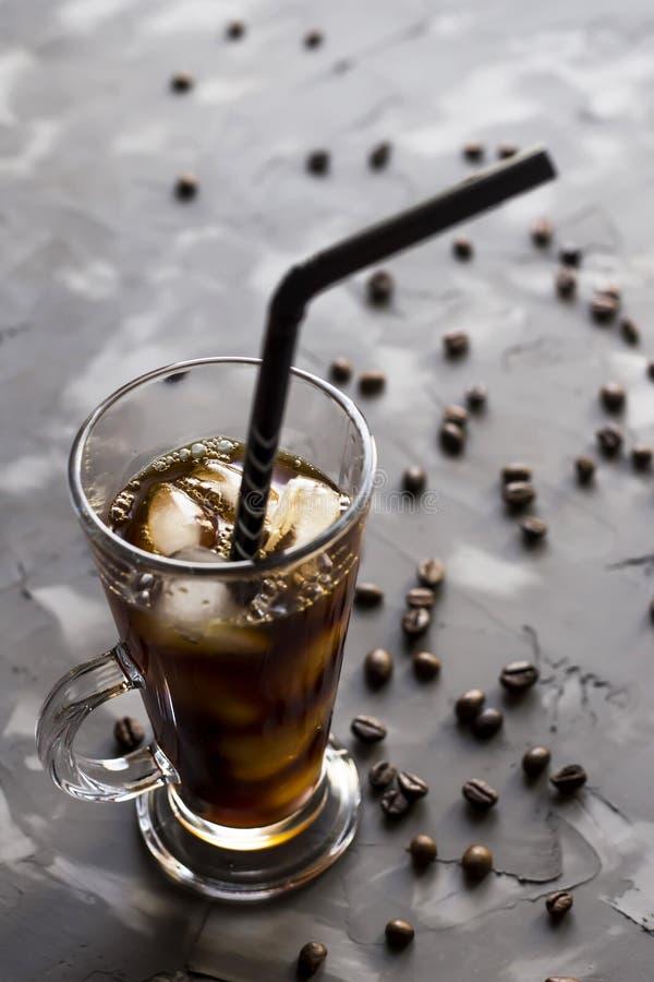 Холодный кофе - питье лета стоковая фотография rf