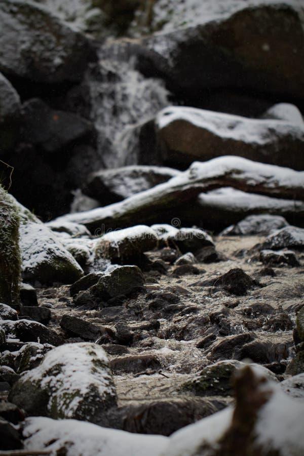 Холодный поток стоковые фото