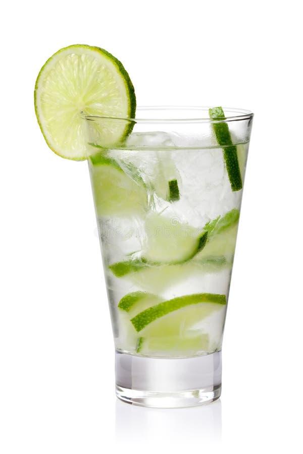 холодный свежий лимонад стоковое фото