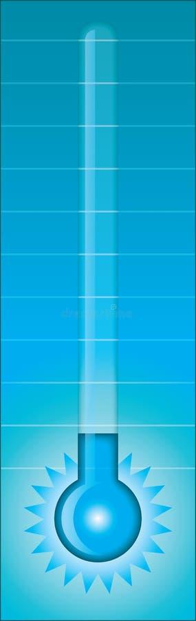 холодный термометр бесплатная иллюстрация