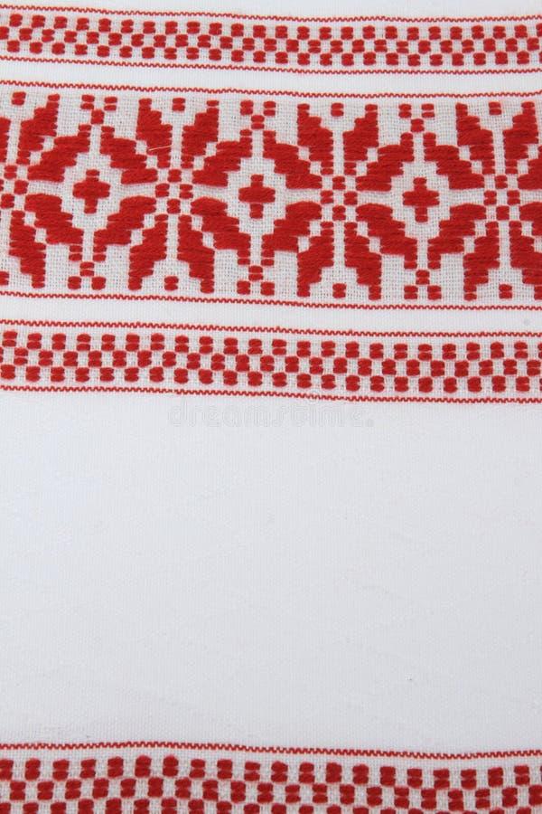 холстина Румыния традиционная стоковые изображения