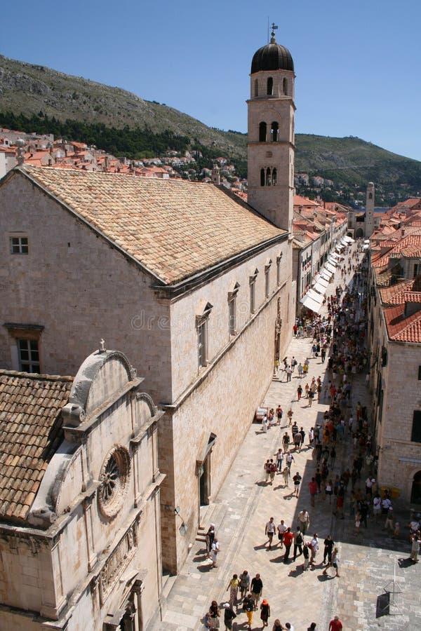 Хорватия dubrovnik стоковое изображение