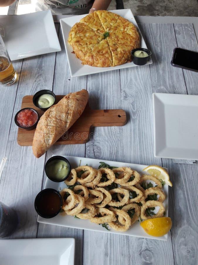 Хорошая испанская еда в Майами стоковые фото