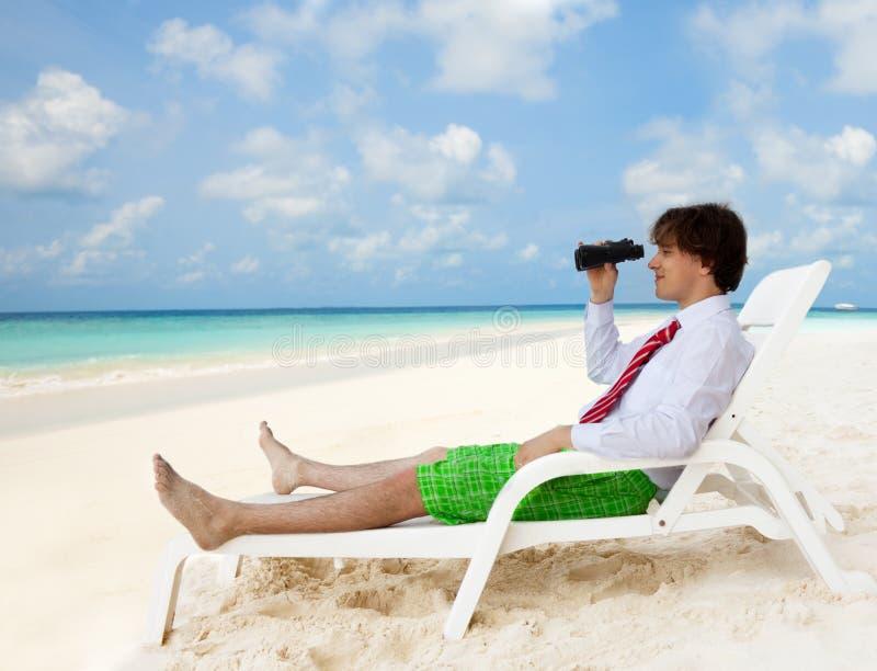 хорошая смотря каникула вариантов стоковое фото