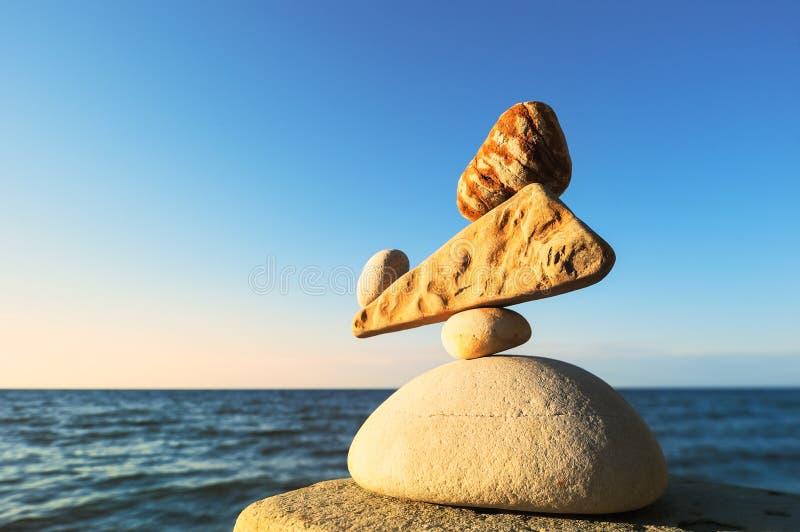 Хорошо сбалансированный стог стоковое изображение rf