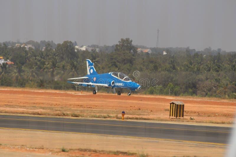 Хоук-я на Aero Индии 2017 стоковое фото