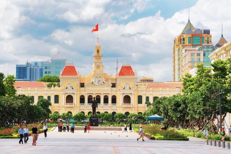 Хошимин Hall Вьетнам стоковое изображение rf