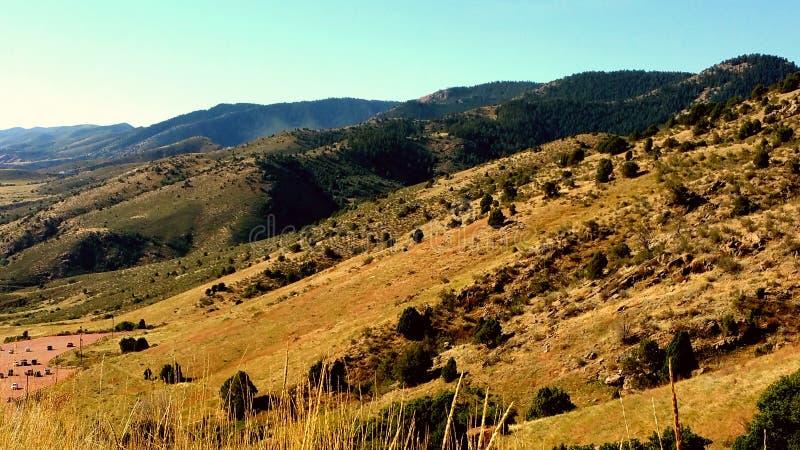 Холмы замотки стоковое фото rf