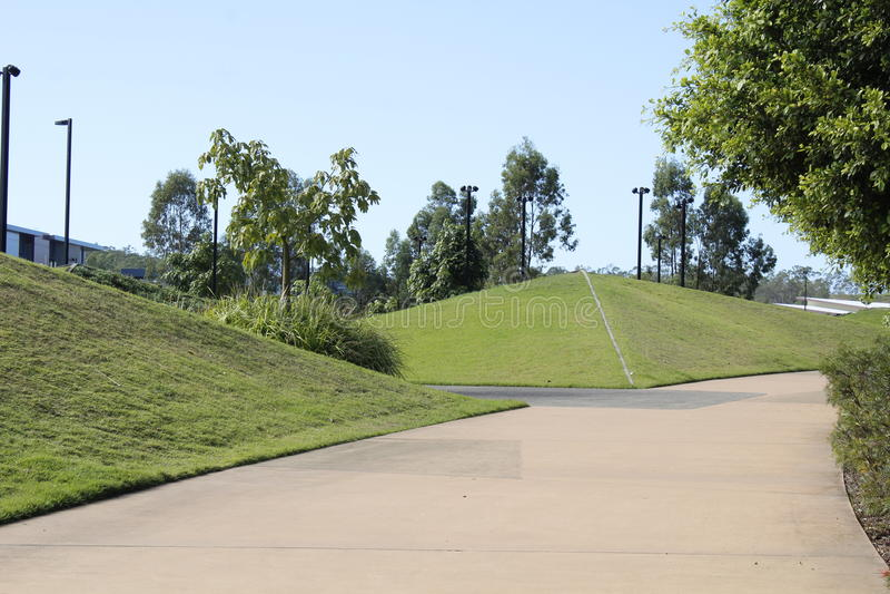 Холмы пирамиды стоковое изображение