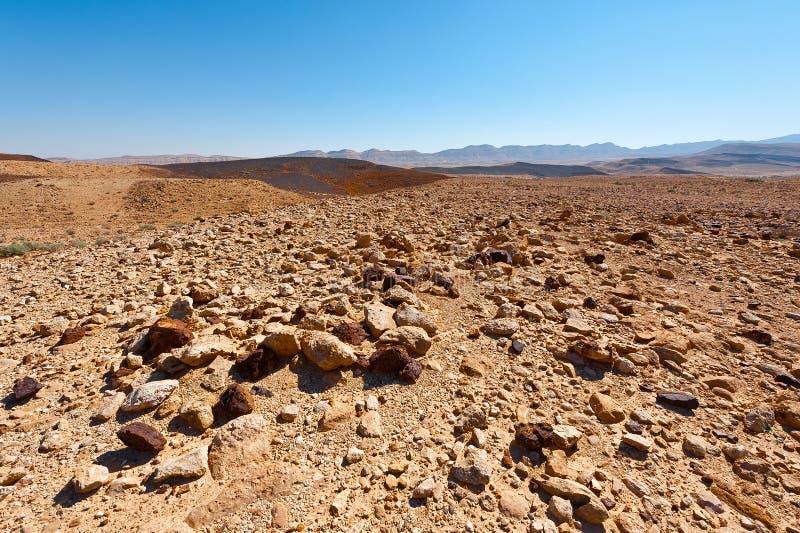 холмы утесистые стоковое изображение rf