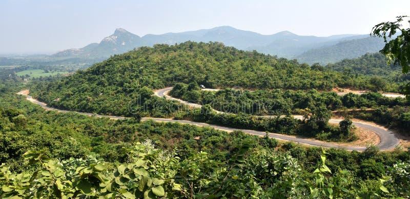 Холмы Ajodhya стоковые изображения rf