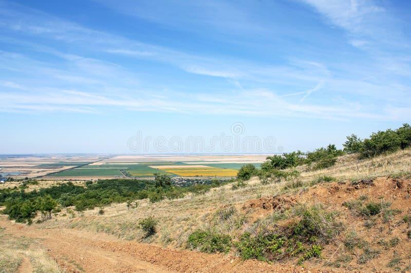 Холмы Ghioroc - Arad Румынии 5 стоковая фотография rf