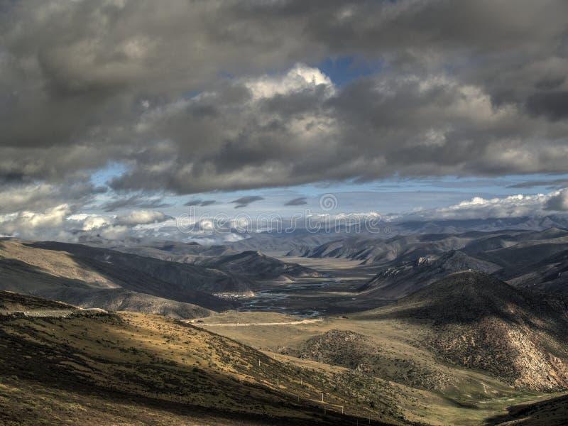 Холм горы стоковое изображение