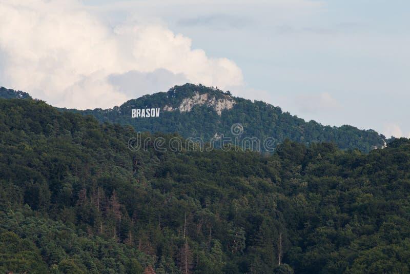 Холм Brasov Тампа стоковое фото