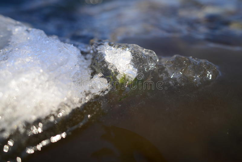 холодная вода стоковые фотографии rf