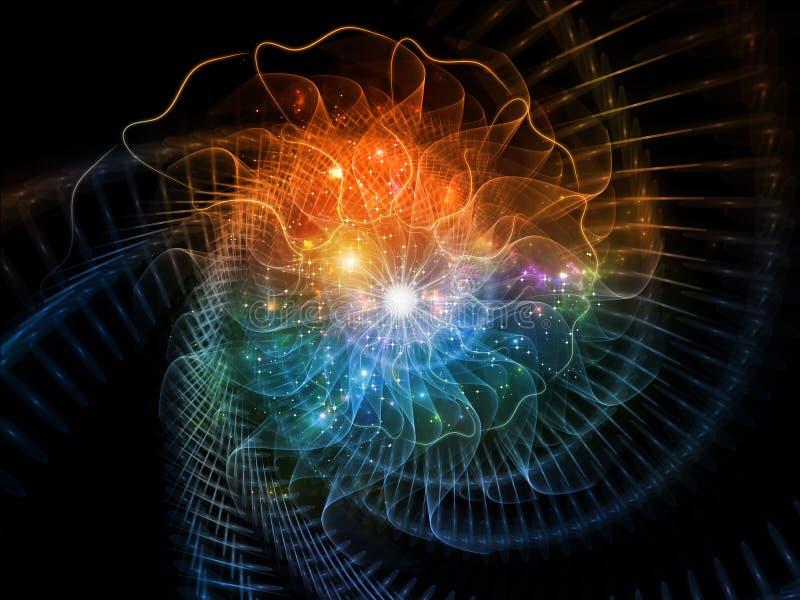 Холодная спираль стоковое изображение rf