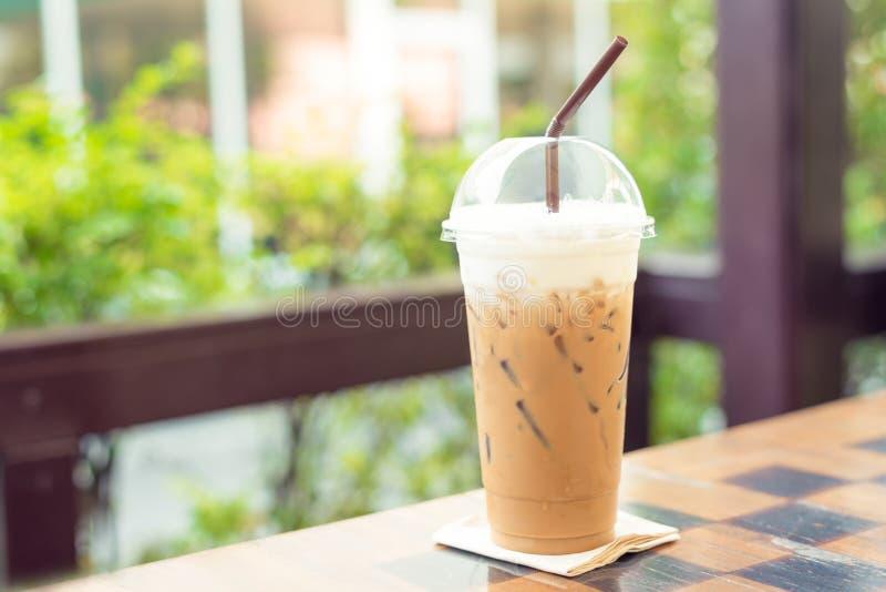 Холодные кофе и лед молока стоковое фото rf
