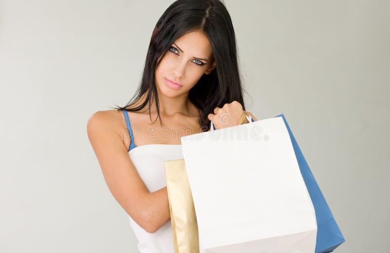 Холодный покупатель. стоковое изображение