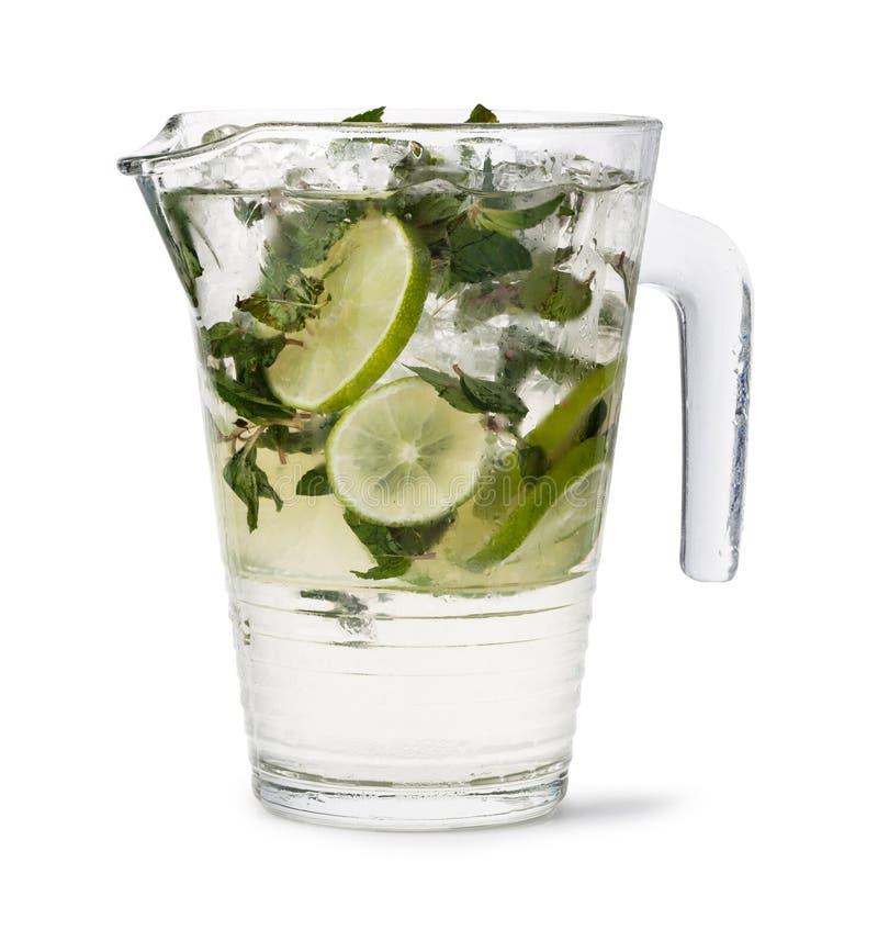 холодный свежий лимонад стоковое изображение rf