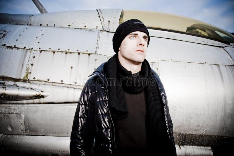 Холодный человек и штурмовик стоковая фотография