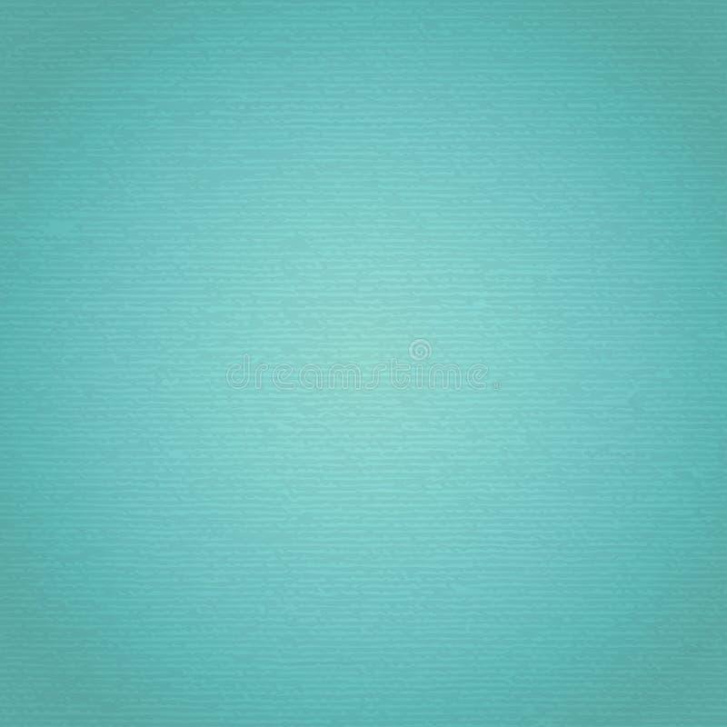 Холст бирюзы с чувствительной решеткой, который нужно использовать как предпосылка или текстура grunge иллюстрация штока