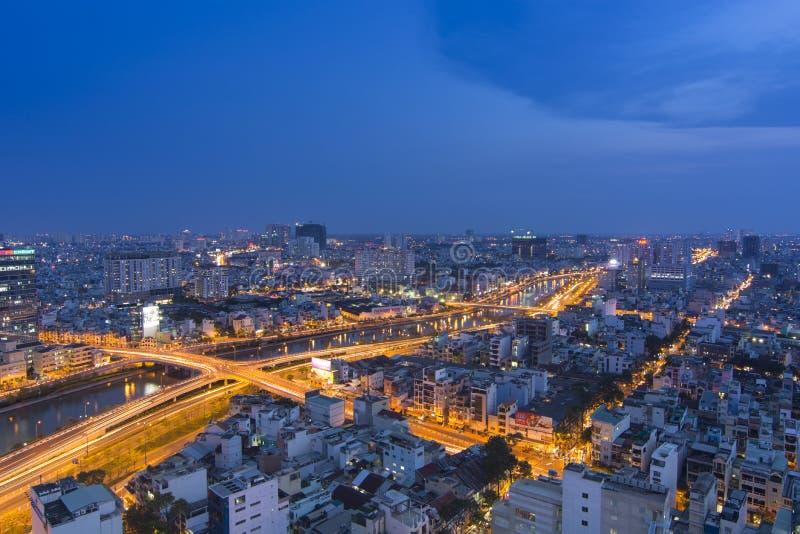 Хо Ши Мин Вьетнам стоковое изображение rf