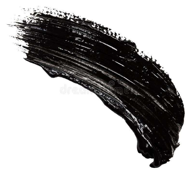 Ходы черной краски стоковые изображения rf