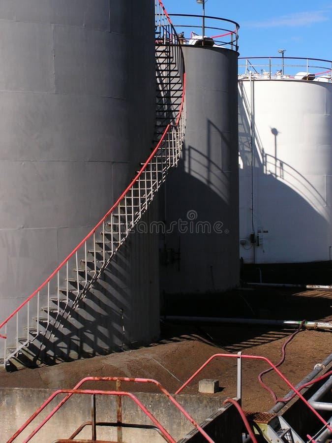 хранение газовое маслоо депо стоковое фото rf