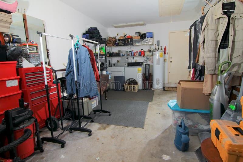 Хранение гаража - 1 стоковое фото