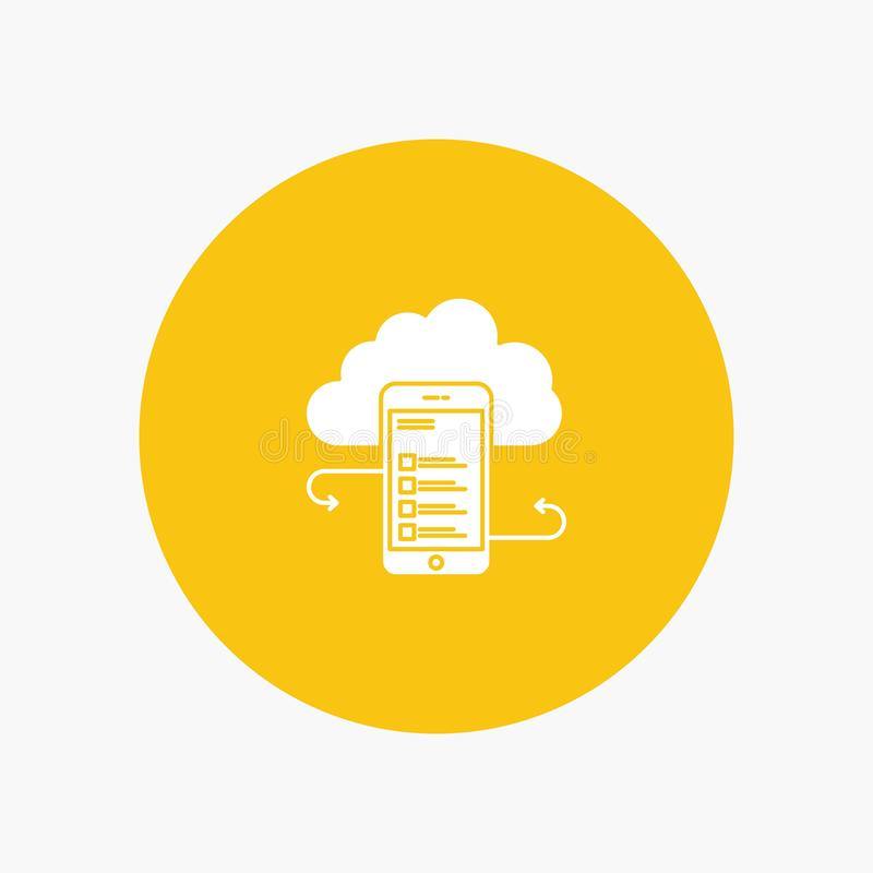 Хранение облака, дело, хранение облака, облака, информация, чернь, безопасность иллюстрация вектора