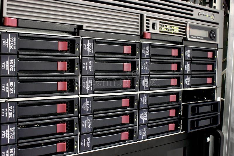 хранение шкафа данных стоковые фото