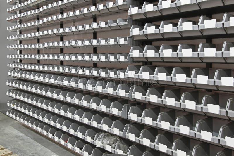 Хранение ящиков подноса стоковое фото rf