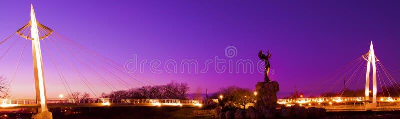 Хранитель равнин в Wichita, Канзасе стоковое фото rf