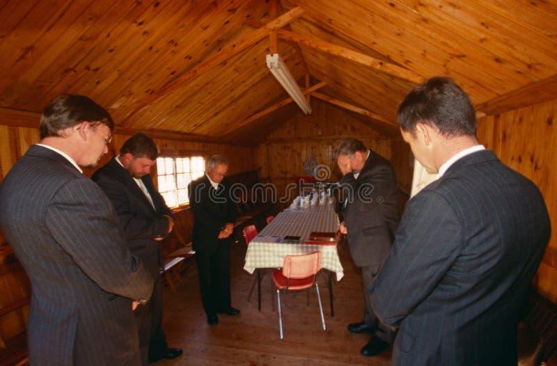 Христианки в Южно-Африканская РеспублЍ. стоковая фотография
