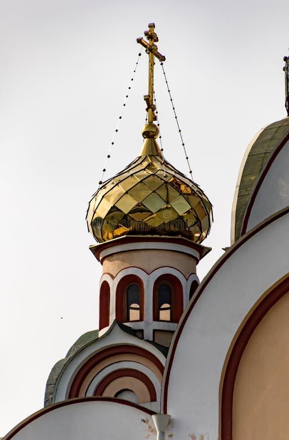 Христианская церковь около Алма-Аты, Казахстан стоковые изображения