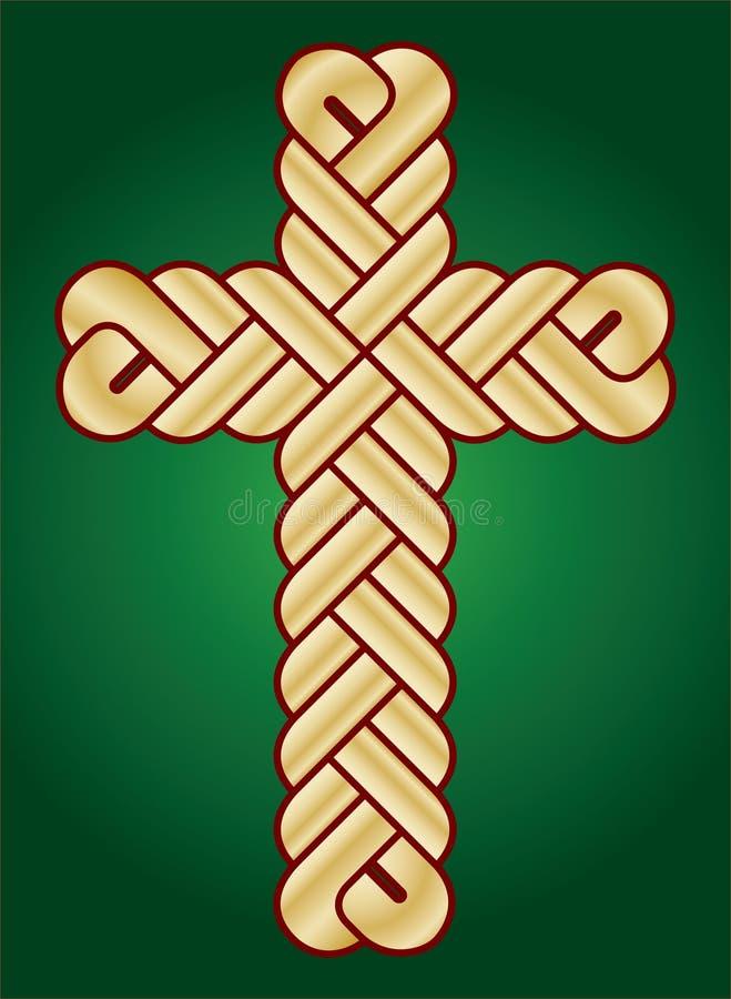 христианское перекрестное wisted святейшее стоковое фото rf