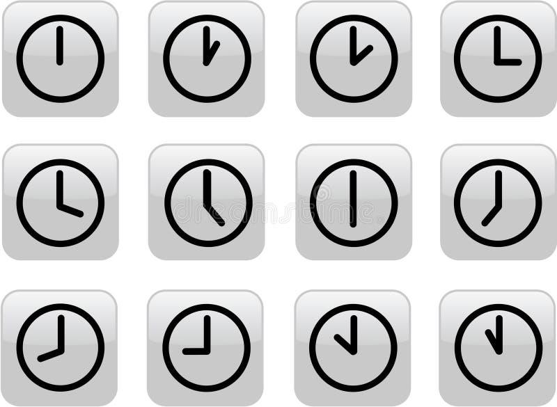 хронометрирует лоснистый серый цвет бесплатная иллюстрация