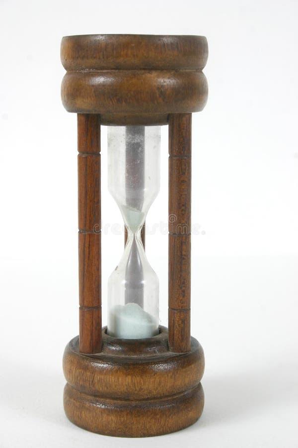 хронометрируйте песок стоковое изображение