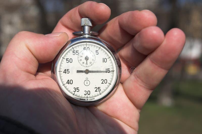 хронометр стоковое фото