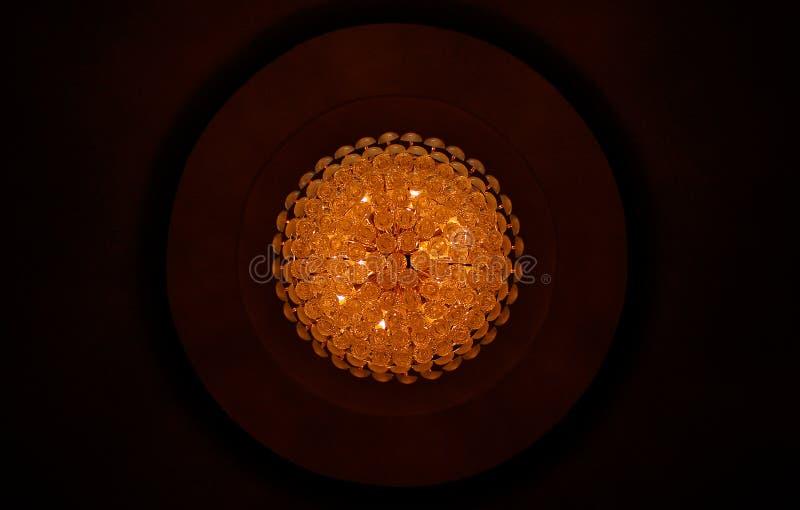 Хрустальная люстра стоковое фото rf