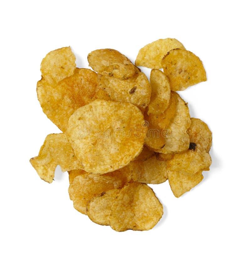 Хрустящие корочки - картофельные стружки стоковая фотография