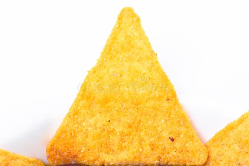 Хрустящие nachos говядины стоковое изображение