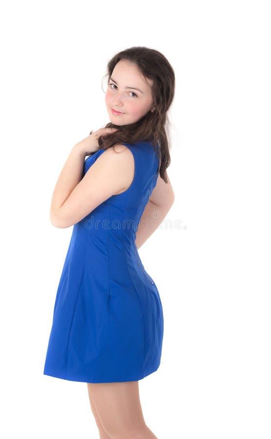 Худенький девочка-подросток стоковое изображение rf