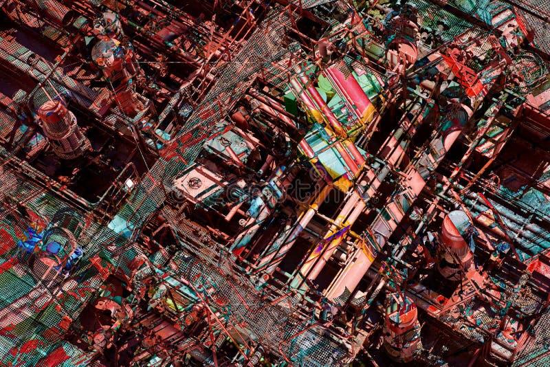 Художественная галерея продуктов печатей дизельных обоев предпосылки макроса шлюпки fulling высококачественная стоковые изображения