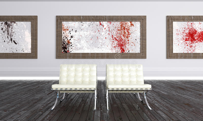 художественная галерея самомоднейшая бесплатная иллюстрация